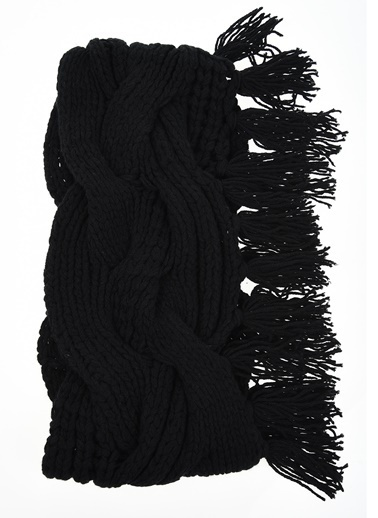BcbgMaxAzria Şal Siyah